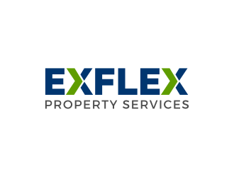 Exflex Property Services logo design