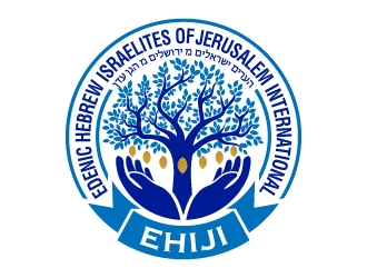 Edenic Hebrew Israelites of Jerusalem International logo design