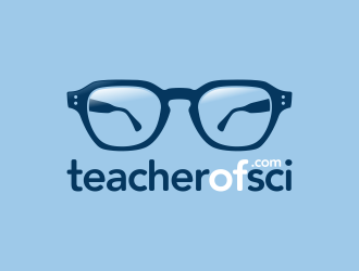 teacherofsci.com or just teacherofsci logo design