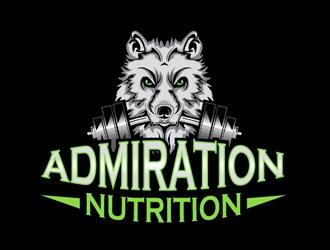 Admiration Nutrition logo design
