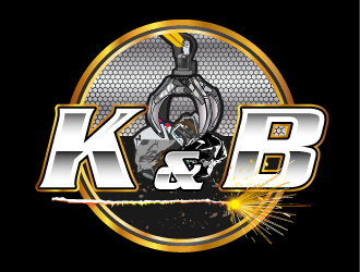 K&B logo design