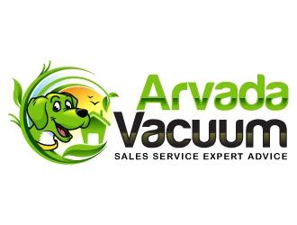 Arvada Vacuum logo design