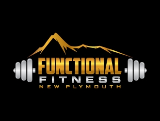 Functional Fitness New Plymouth logo design