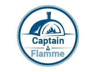 Captain Flamme logo design