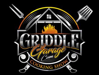 Griddle Garage logo design