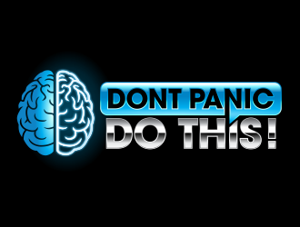 Dont Panic Do This! logo design
