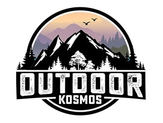 Outdoor Kosmos logo design