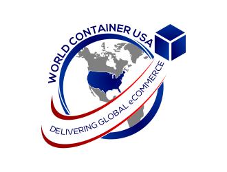 World Container USA Inc. logo design