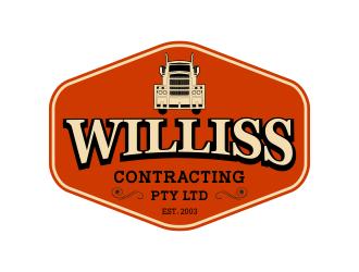Williss contracting  logo design