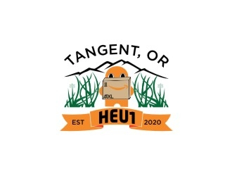 HEU1 logo design