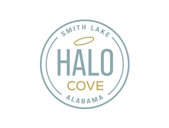 Halo Cove at Smith Lake logo design