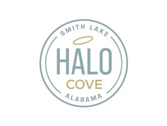 Halo Cove at Smith Lake logo design