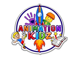 Animation KIDZ logo design