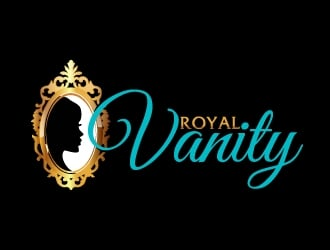 Royal Vanity  logo design
