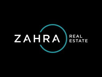 Zahra Real Estate logo design
