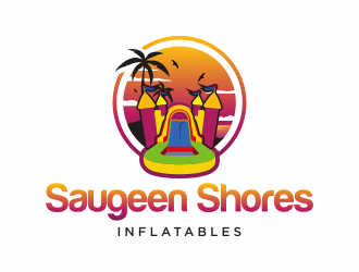 Saugeen Shores Inflatables logo design