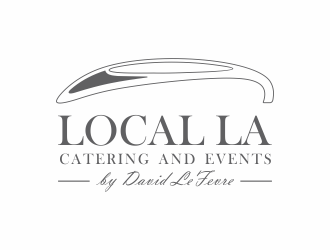 LOCAL LA by David LeFevre logo design