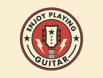 Enjoy Playing Guitar logo design