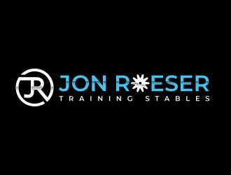Jon Roeser Training Stables Logo Design
