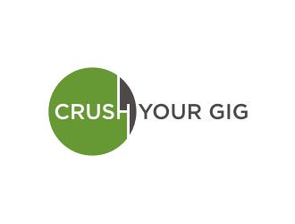 Crush Your Gig logo design