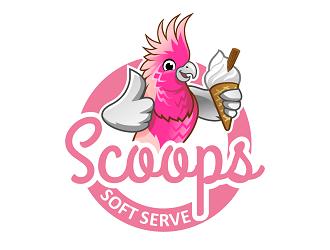 Scoop Soft Serve Logo Design