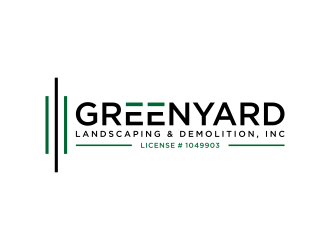 Greenyard Landscaping & Demolition, Inc logo design