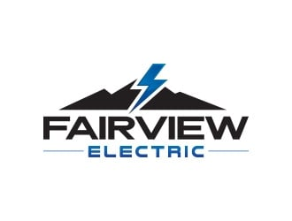 Fairview Electric logo design winner