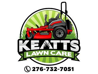 Keatts Lawn Care logo design