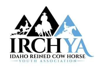Idaho Reined Cow Horse Youth Association logo design
