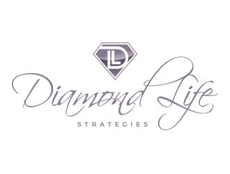 Diamond Life Strategies logo design winner