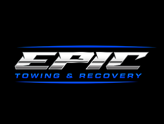 EPIC Towing & Recovery logo design