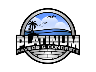 Platinum Pavers & Concrete logo design winner