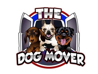 The Dog Mover  logo design
