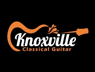 Knoxville Classical Guitar logo design
