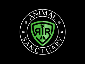 RIR Animal Sanctuary logo design