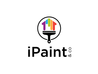 iPaint & Co logo design