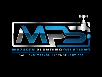 Mazurek Plumbing Solutions logo design winner