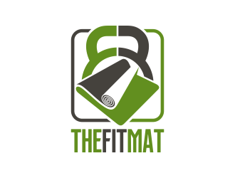 The Fit Mat logo design