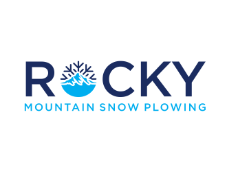 Rocky Mountain Plowing logo design