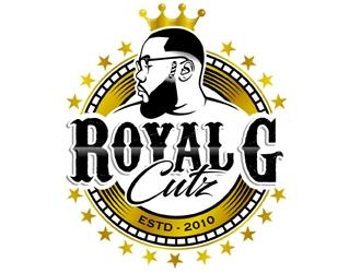 Royal G Cutz logo design