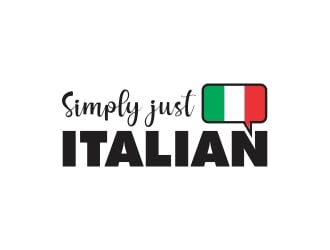 Simply just Italian logo design