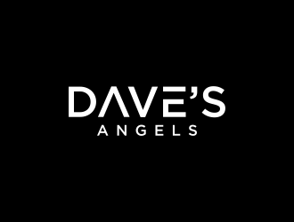Daves Angels logo design by p0peye