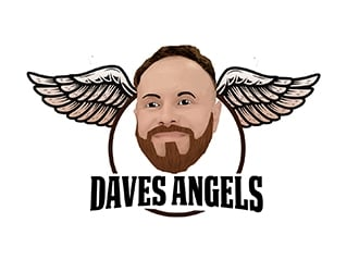 Daves Angels logo design by PrimalGraphics