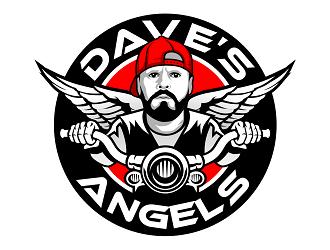 Daves Angels logo design by haze