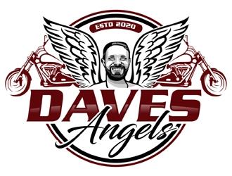 Daves Angels logo design by MAXR