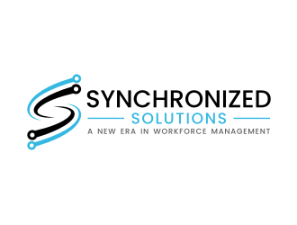 Synchronized Solutions logo design winner