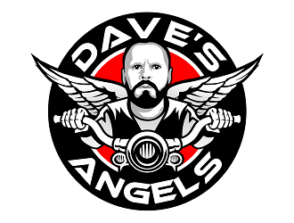 Daves Angels logo design