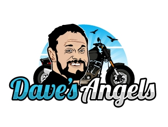 Daves Angels logo design by AamirKhan