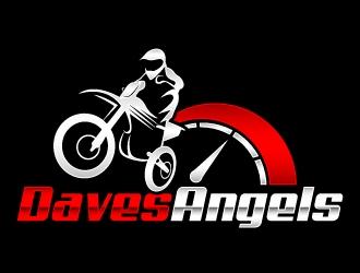 Daves Angels logo design by Kirito