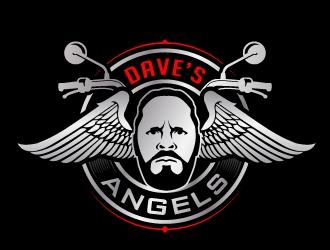 Daves Angels logo design by jaize